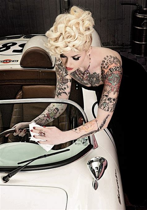 tattoo girl rockabilly rockabilly hairstyles ıŋ ų ʂ pinterest image