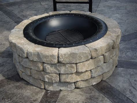 build a firepit diy project how to build a backyard pit 3 most