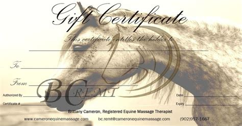 printable gift certificates with horses special offers and gift certificates eastern equine dynamics
