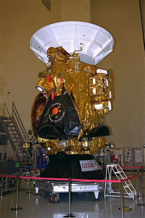 space  images   cassini spacecraft  display