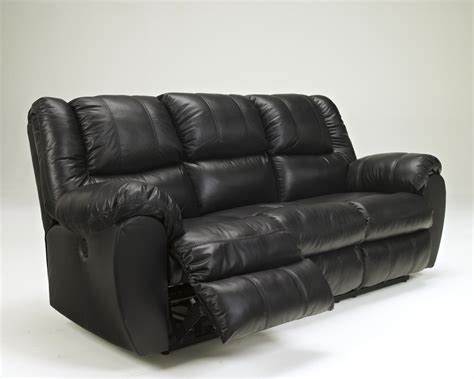 black reclining sofa 9230187 ashley furniture signature design mcadams black