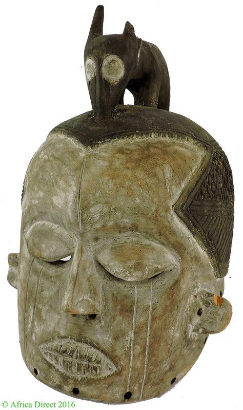 Suku Suku Animal suku helmet mask with animal congo congo