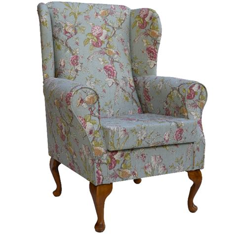 duck sw chair floral wing back chairs floral wing back chair floral