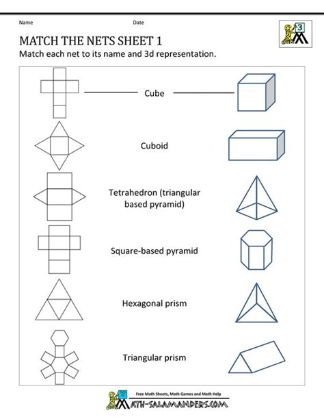 www geometry 3d shapes the net and geometry on pinterest