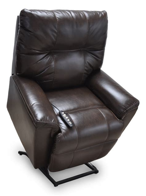 leather lift recliners 4418 finn faux leather lift recliner franklin furniture