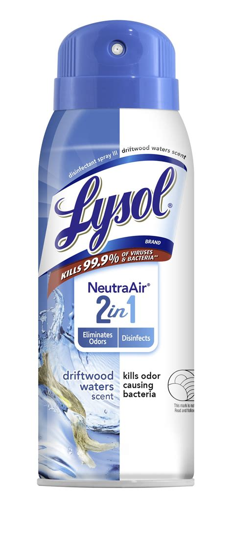 lysol disinfectant spray neutra air    driftwood waters