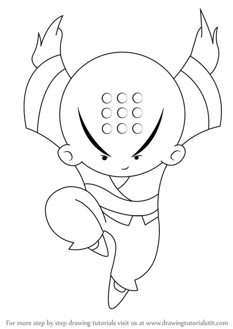 How To Draw Xiaolin Showdown Characters