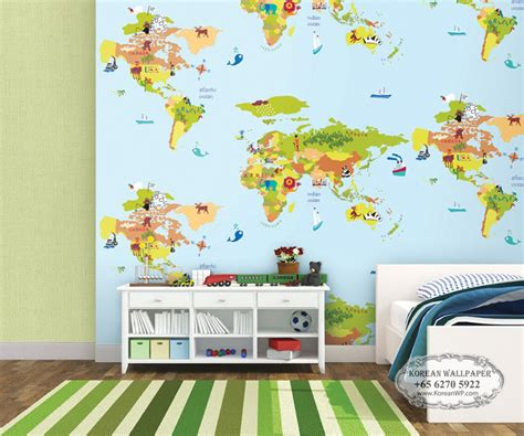 disney a5055 singapore world map wallpaper sale