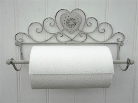 shabby chic kitchen roll holder shabby chic grey wall mounted kitchen roll