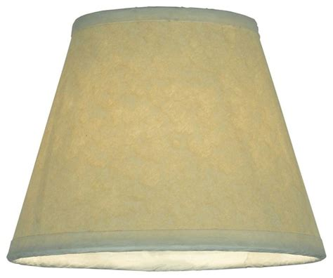Replacement L Shades by Aged Celadon Parchment Replacement Shade L Shades