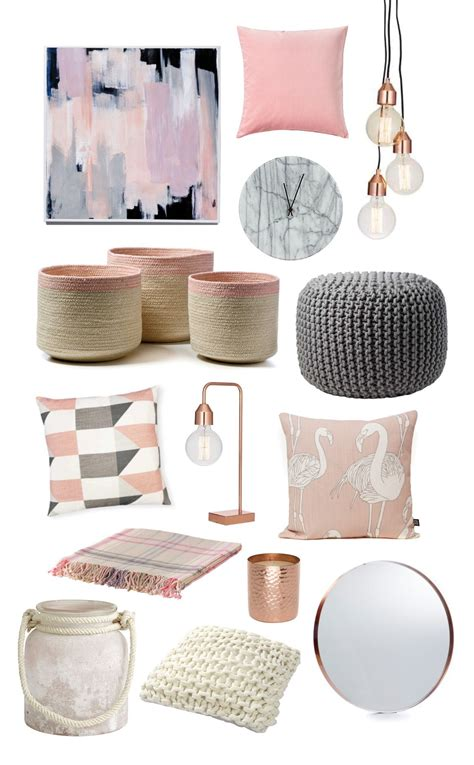trend alert pink copper design color trends pinterest trending items blush pink click through for stockists
