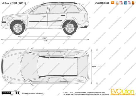 Draw Blueprints Online the blueprints com vector drawing volvo xc90