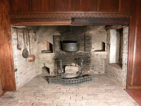 to build in kitchen fireplace designs dynamic cooking lummus house quot kitchen quot fireplace 18th 19th century