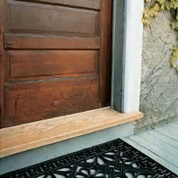 Door Thresholds For Exterior Doors Replacing A Threshhold House Magazine Doors And Magazines