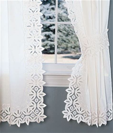 lace white curtains fabric material rod pocket curtains and white curtains on