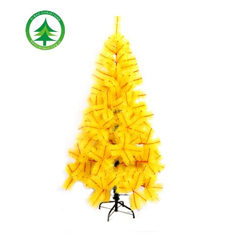 black and yellow christmas tree 180cm yellow artificial pine tree sale tree as ornament buy dollar