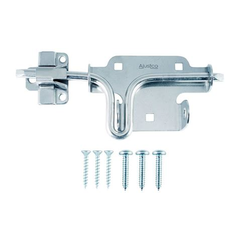 ajustco zinc slide bolt gate lock 216 the home depot