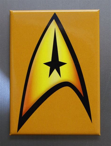 printable star trek logo star trek communicator badge logo refrigerator fridge