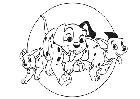 fun coloring pages 101 dalmatians coloring sheets