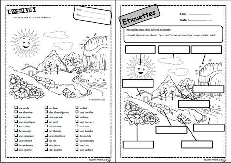 production layout en francais mots de mars lire lecture comprendre compr 233 hension