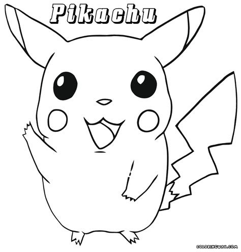 pikachu coloring pages pikachu coloring page coloring pages