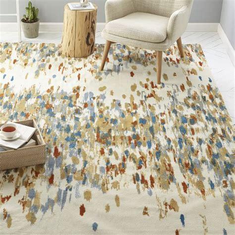 paint rug paint palette rug west elm