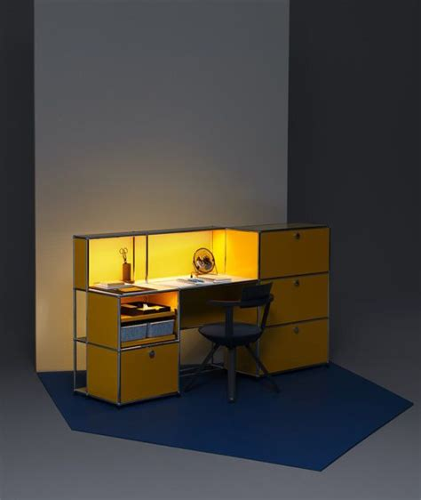 Schreibtische Usm by Usm Haller E Light Fuels Creativity The Golden Yellow