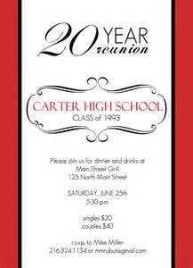 Class Reunion Template by Class Reunion Invitation Templates