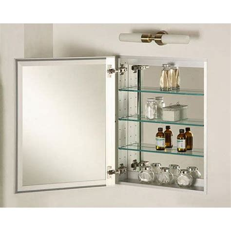 afina sd2430rbrdat broadway 24 x 30 single door recessed