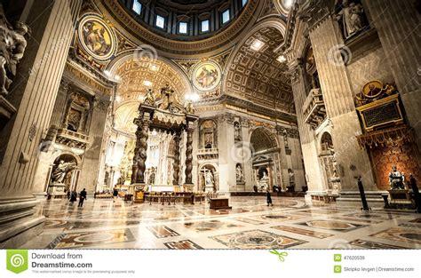 imagenes oscuras del vaticano la bas 237 lica de san pedro en vaticano dentro foto de