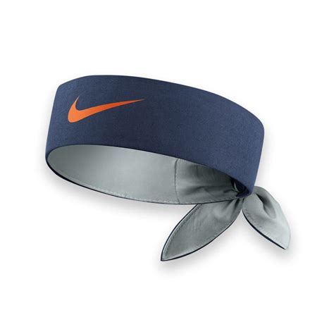 Headband Nike nike tennis headband midnight navy grey mist bright
