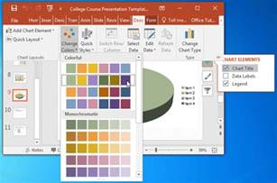 College Powerpoint Templates by College Course Presentation Template For Powerpoint