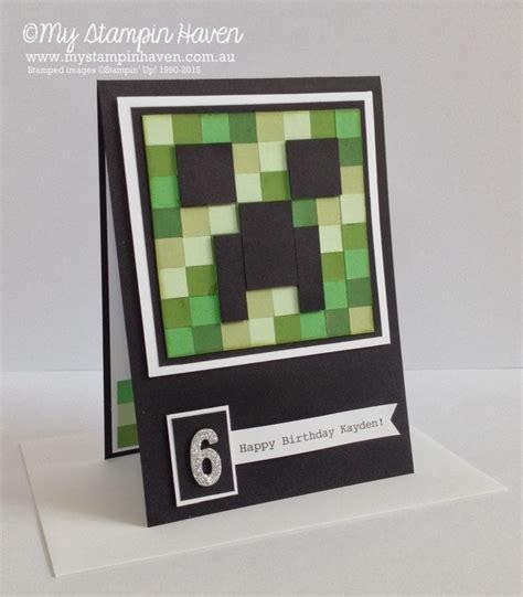 Minecraft Handmade - 25 best ideas about minecraft birthday card on