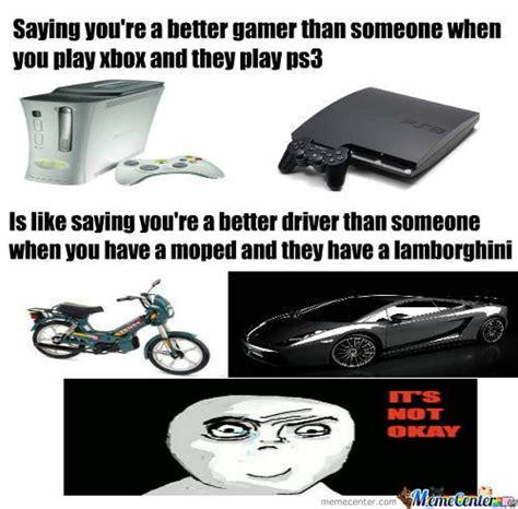 Playstation Meme - rmx xbox vs ps3 by recyclebin meme center