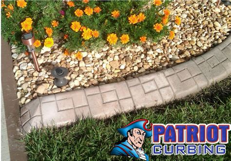 Landscape Edging For Drainage Curb Appeal With Patriot Curbing Drainage Yikes