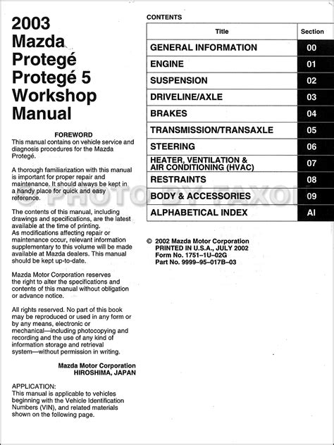 old car owners manuals 2002 mazda protege5 on board diagnostic system 2003 mazda protege wiring diagram 33 wiring diagram images wiring diagrams