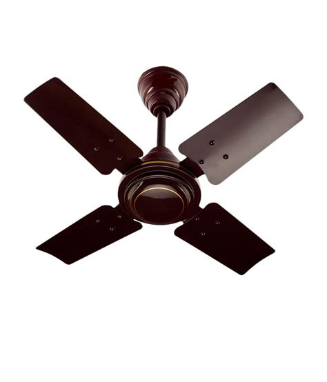 Usha 600 Mm 24 Inch Wind Ceiling Fan Brown Price In India