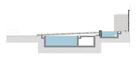 Swimming Pool Section Detail by Gallery Of Relux Ios Island A31 54
