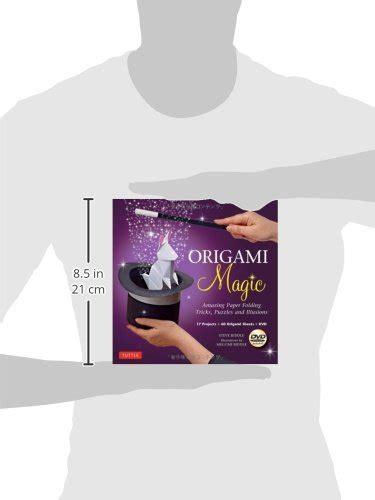 Origami Magic Kit: Amazing Paper Folding Tricks, Puzzles