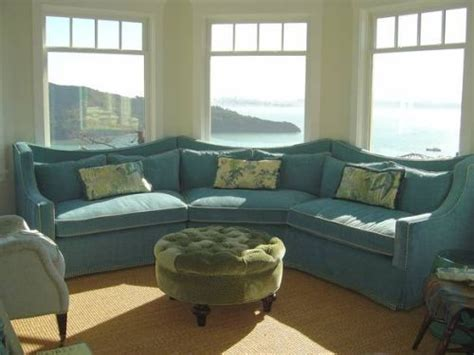 sofa in front of bay window sectional sofa bay window favorite places spaces