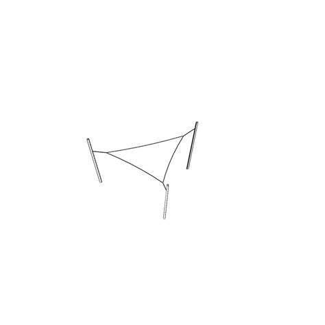 Voile D Ombrage Triangulaire 5m 1089 by Voile Ombrage Terrasse Et Jardin Triangle Design Qualit 233