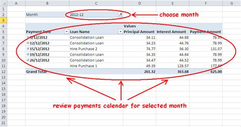 Mortgage Calendar Loan Or Mortgage Payment Schedule Calculator In
