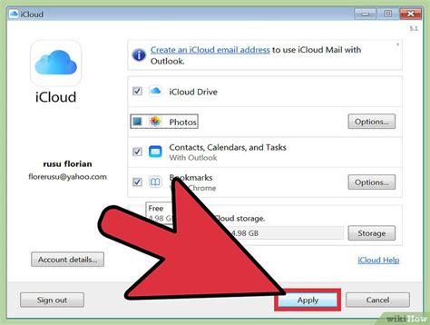 cara membuat icloud via pc cara mengakses foto icloud dari pc wikihow