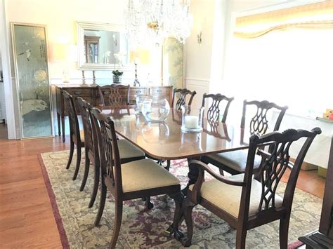 Drexel Heritage Chairs For Sale by Fascinating Mid Century Drexel Profile Dining Table Five Chairs By With Drexel Heritage Sofa