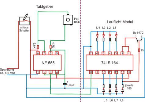 Led Lichterkette Selber Bauen by Lauflicht Led Panel Elektro Basteln 1