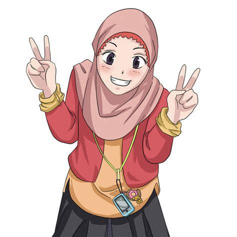 wallpaper bergerak muslimah gambar gambar kartun muslimah bergerak powerpoint animasi