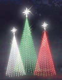 tree made of light strings mosca design commercial christmastrees mosca design