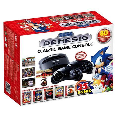 console gioco sega genesis gioco console con 80 giochi antracite ebay
