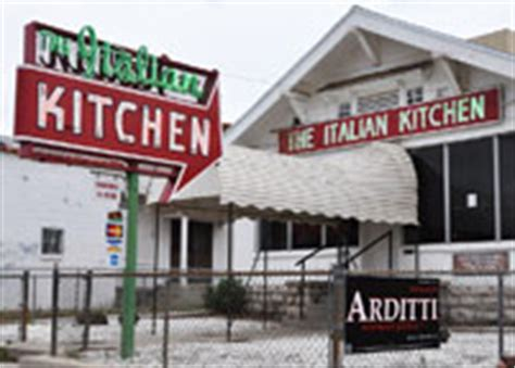 Italian Kitchen El Paso by El Paso Signs Roadsidearchitecture
