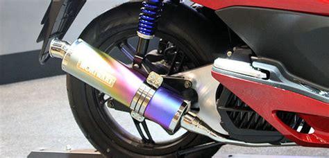 Knalpot Honda Blade Dbs Bulet knalpot 4 juta dari moriwaki untuk honda pcx blognya arantan